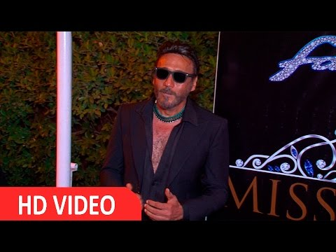 Jackie Shroff Spruces Up For Miss Diva 2016