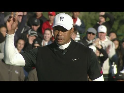 At - In the third round of the 2013 Northwestern Mutual World Challenge, Tiger Woods fired an even par 72 and holds the lead. For complete coverage http://www.pga...
