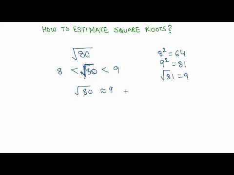 17 Estimating square roots