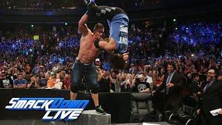 Nonton HINDI - AJ Styles attacks John Cena: SmackDown Live, 16 August, 2016 Film Subtitle Indonesia Streaming Movie Download