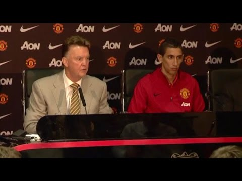 angel - Manchester United manager Louis van Gaal believes Angel Di Maria will