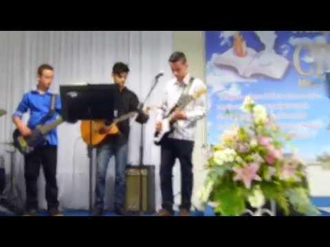 Banda aviva na igreja palavra viva cristã em Forquilhinha l Assim como a corça