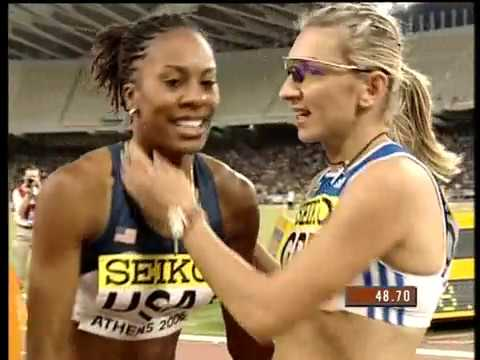 Sanya Richards 48.70 World Cup Athens 2006