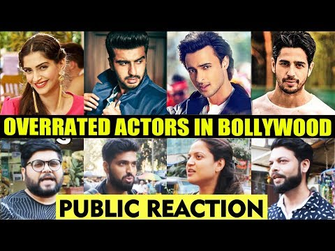 Overrated Actors In Bollywood | PUBLIC REACTION