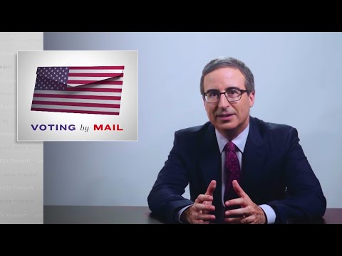 Voting by Mail: Last Week Tonight with John Oliver