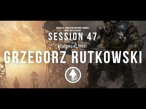 level up - We are ready to announce another session of Level Up!l This time with the amazing Grzegorz Rutkowski! Grzegorz is freelance illustrator who has worked for companies like: CD Projekt Red, Games...