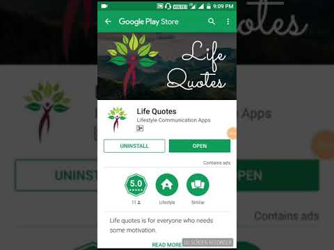 Life Quotes App Free Paytm Cash earn Hindi video