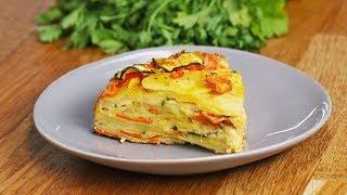Scalloped Vegetable Bake by Tasty