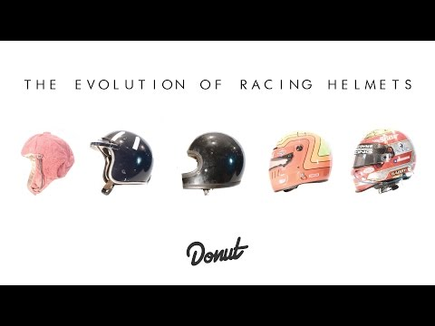 Cascos de Competición/La evolución 1908/2016 (by Donut Media)