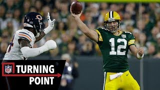 How Rodgers Brought His Team Back From a 17-point Deficit on One Leg in Week 1 | NFL Turning Point by NFL Films