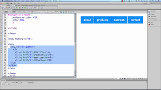 Dreamweaver CS6 - Easy CSS Navigation Menu