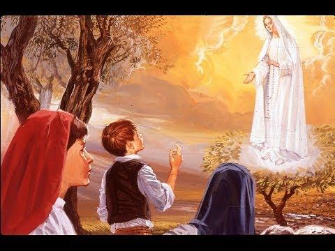 fatima. tutta la storia delle apparizioni della madonna del rosario.