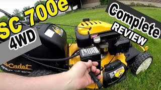 9. Cub Cadet self propelled lawn mower review - SC 700e