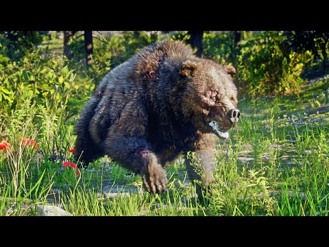 Red Dead Redemption 2 - Killing All Legendary Animals / Part 1