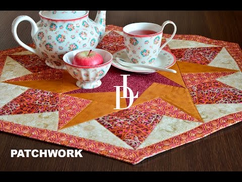how to make a patchwork with triangles