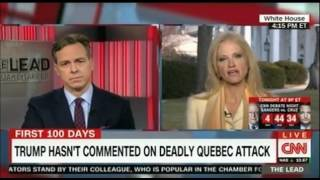 Kellyanne  Conway battles with CNN's Jake Tapper Classic Media vs White House confrontation