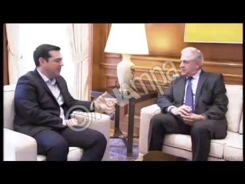 Συνάντηση του Πρωθυπουργού  με τον Δημήτρη Αβραμόπουλο
