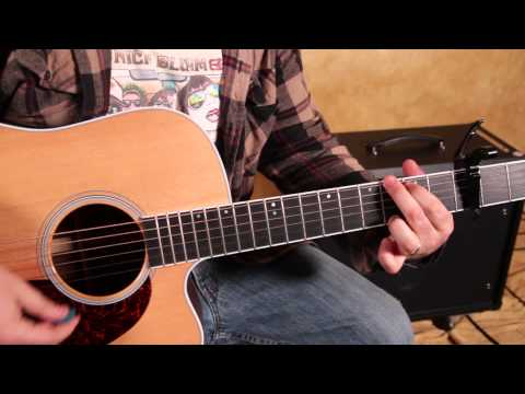 Easy Beginner Acoustic Songs on Guitar – Imagine Dragons – Demons – How to Play