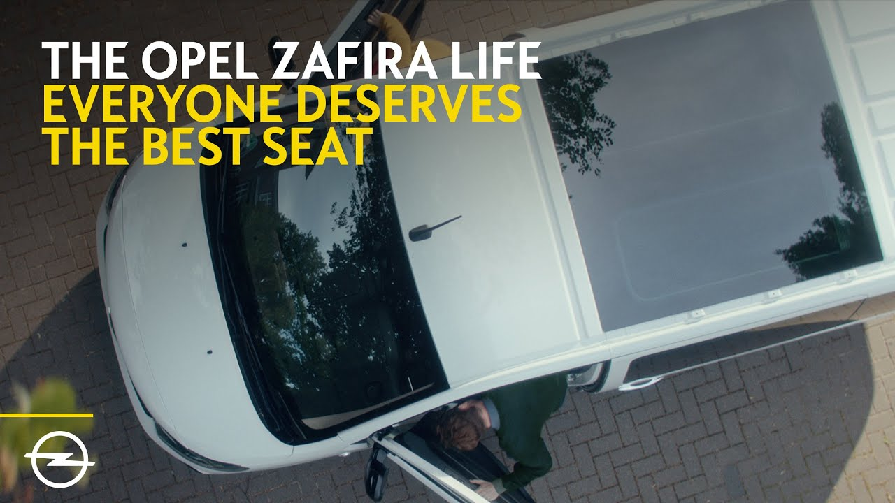 The new Opel Zafira Life | Make Travel More Flexible