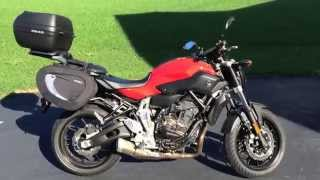 8. Walk-around of the 2015 Yamaha FZ-07