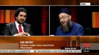 CNN TÜRK   Başka Şeyler Programı 21 12 2014   Cübbeli Ahmet Hoca