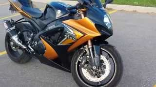 10. 2008 SUZUKI GSXR 1000 DUAL YOSHIMURA TRC - Walkaround and start