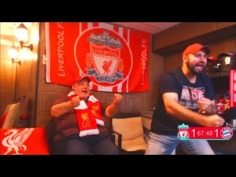 LIVERPOOL BEATS BAYERN MUNICH 3-1!!!! LFC FAN REACTIONS!!!!