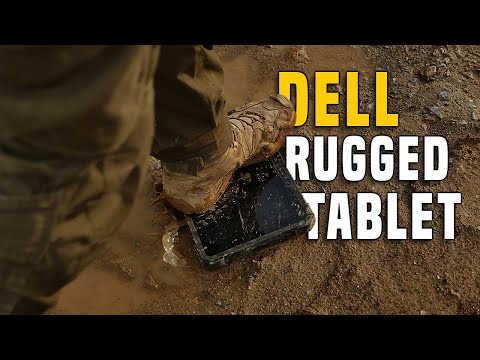 Rugged TABLET Dell Latitude 12 - Gear Review Drop-Test GERMAN + (ENGLISH SUBTITLES)