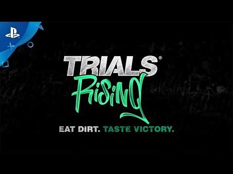 Trials Rising - Launch Trailer | PS4 - Thời lượng: 3 phút, 32 giây.