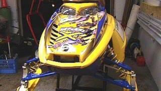 4. 2007 Ski-doo MXZ XRS 800