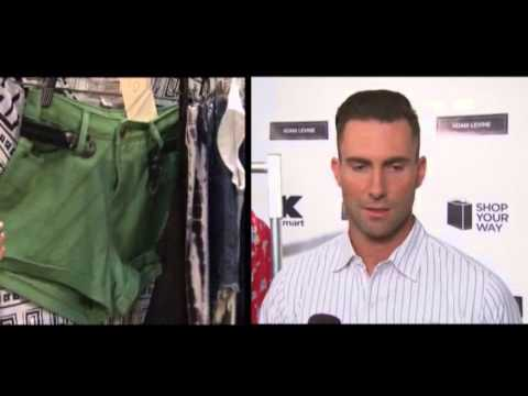 Fashion - Adam Levine defends his new fashion line despite having no formal design training (April. 18)