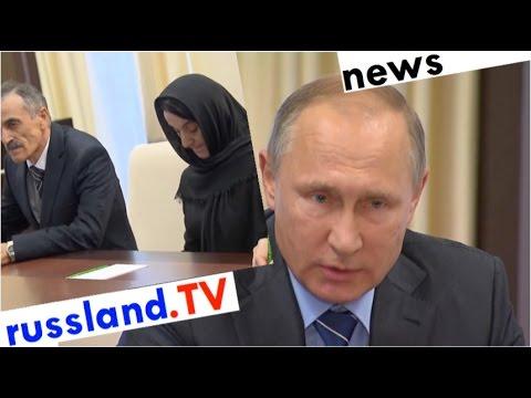Putin ehrt von Islamisten getöteten Helden
