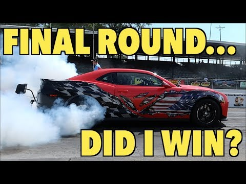 INSANE Drag Racing At Camaro Fest!! (I Made It To The Finals) (видео)