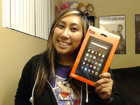 FIRE TABLET UNBOXING: Fire, 7