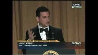 Video Jimmy Kimmel Roasting at the 2012 White House Correspondents' Dinner MP3, 3GP, MP4, WEBM, AVI, FLV April 2018