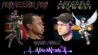 Terrible video quality, but a chance to see two of the best guys in the game. SADUK 3.5 GF: Armada vs Professor Pro