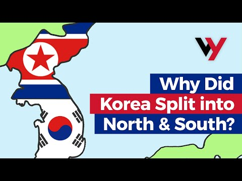 korea - A video explaining why the country of Korea split into two different countries: North Korea and South Korea.