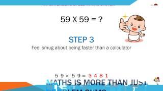 Squaring 2-digit numbers: Type B Numbers