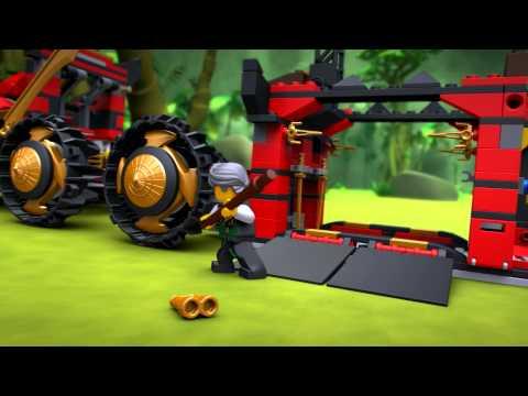 LEGO Ninjago - Nindzsa DB X