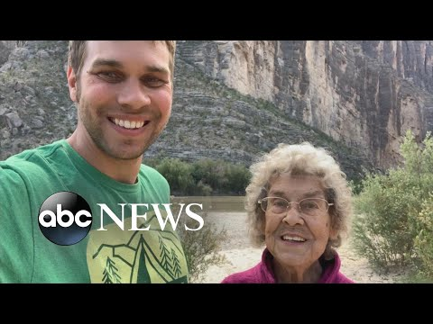 Man, grandmother visit 49th national park in lower 48 states