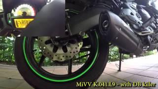 9. Kawasaki Versys 650 (2015) MiVV L9 sound