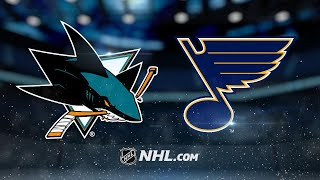 Couture, Boedker pace Sharks to 3-2 win in St. Louis by NHL