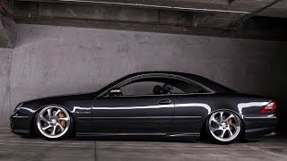 Bagged Mercedes CL55 AMG - One Take by The Smoking Tire