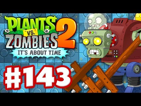 Plants vs. Zombies 2: It's About Time – Gameplay Walkthrough Part 143 – Gargantuar Prime! (iOS)