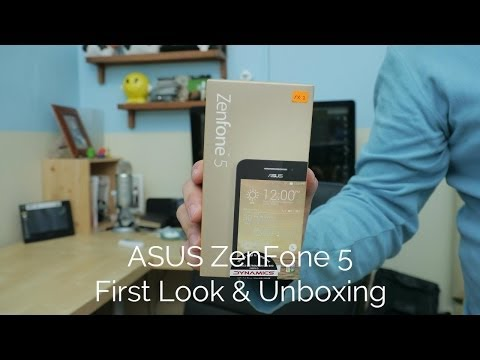 ASUS ZenFone 5 (A501CG) First Look and Unboxing