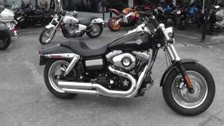 7. 317215 - 2011 Harley Davidson Dyna Fat Bob FXDF - Used Motorcycle For Sale