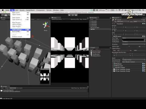 Video of unity2eclipse demo wallpaper