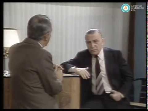 Entrevista a Viola, designado presidente por la Junta Militar, 1981 (parte I)