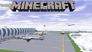 Video Minecraft Creations: Airport Showcase and Airplanes - Minecraft Creations Brothers MP3, 3GP, MP4, WEBM, AVI, FLV Juli 2018