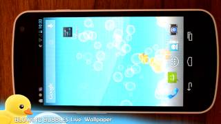 Blowing Bubbles Live Wallpaper YouTube video